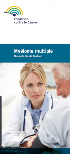 Cover brochure Myélome multiple