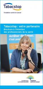 Dépliant Tabacstop pour les professionnels de santé