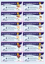 Ecoles futées au soleil stickers