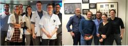 L'équipe des professeurs Piet Ost & Wouter Everaerts