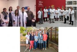 Equipes des Professeurs Marc Van den Eynde, Javier Carrasco et Karin Haustermans