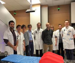 Team van Professor Edmond Sterpin