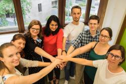 Team van professor Eleonora Leucci