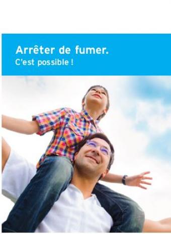 Couverture brochure Arrêter de fumer c'est possible