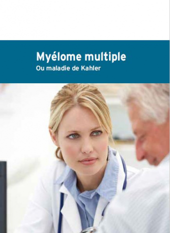 Cover brochure Myélome multiple