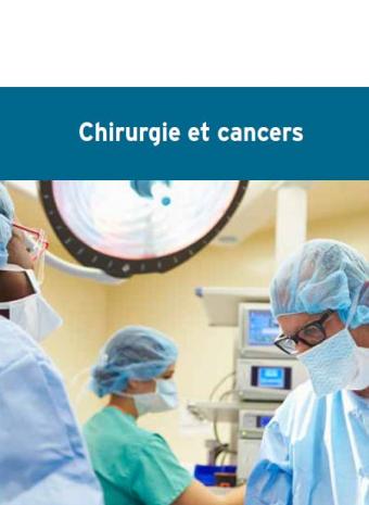 Couverture brochure 'Chirurgie et cancer'