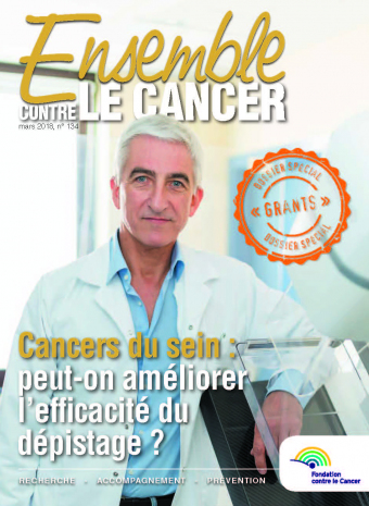 Cover Ensemble contre le Cancer mars 2018