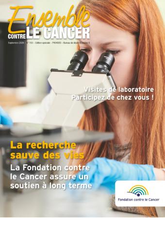 Retrouvez l'actualité de la Fondation contre le Cancer