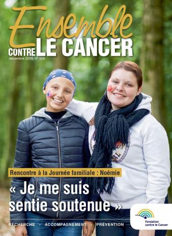 Couverture magazine de décembre