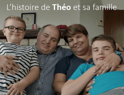 L'histoire de Théo et sa famille