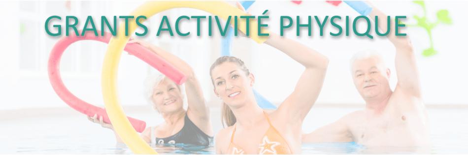Grants activité physique