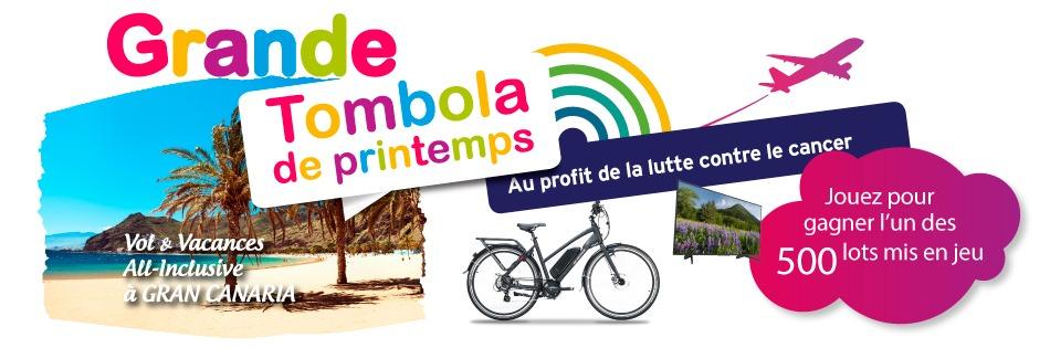 Banner Tombola de Printemps