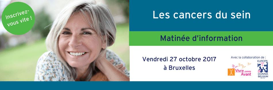 Matinée info Cancers du sein 2017