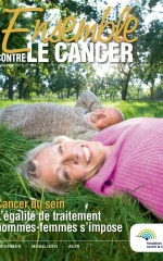 Ensemble contre le Cancer septembre 2018