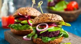 burger végétarien veggie burger