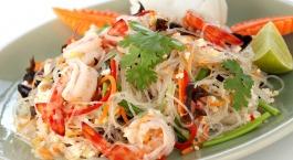 Salade thaïe aux fruits de mer
