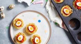 Sofie Dumont : Nids de pâtes complètes et sauce aux 7 légumes
