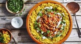 Recept Sofie Dumont: chili sin carne met volkoren couscous