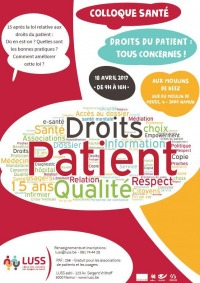 Colloque droits du patient