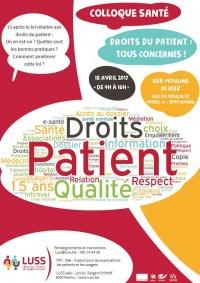 Colloque droits du patient