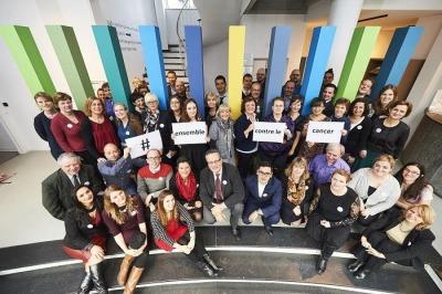 Le personnel de la Fondation : ensemble contre le cancer