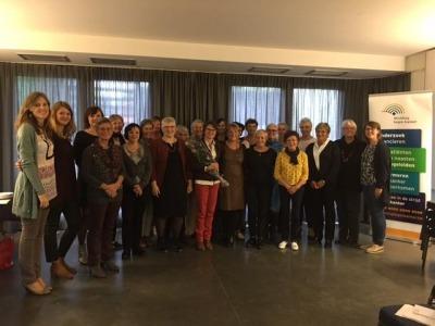 Les conseillères à la formation de Bruxelles
